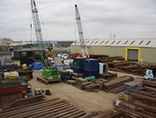 Image of Affable Piling yard